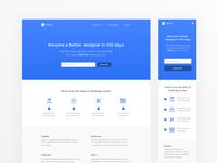Daily UI #100 - Daily UI Landing Page