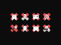 TEDxWesternU - Illustration Icons