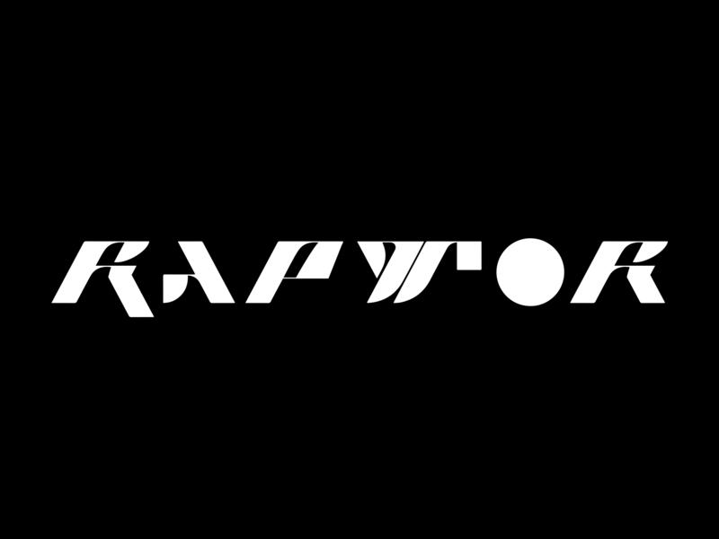 RAPTOR FONT sans serif font sans serif sans-serif design typeface custom fresh modern type typography lettering font