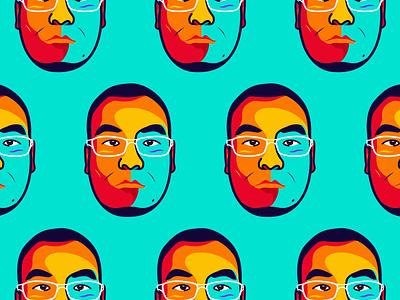 My avatar 😂 face illustrator avatar