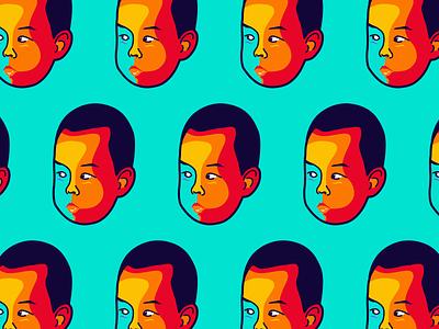 My son avatar😂 illustrator face avatar