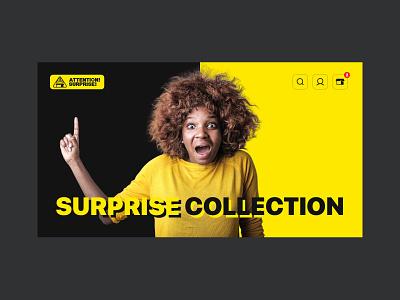 Attention!Surprise! web attention website design