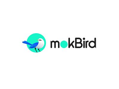 mokBird mockingbird bird logo