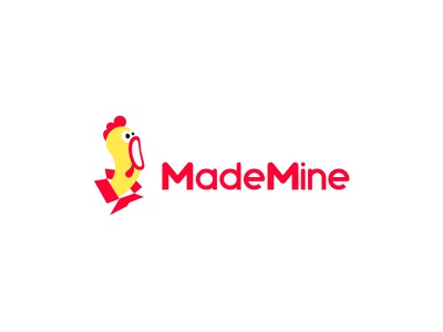 MadeMine Logo logo box gift box chicken gift
