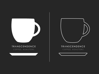 Transcendence Coffee Roasters t-shirt WIP