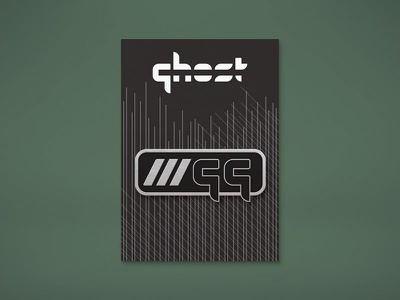 "Ghost Gaming ""Good Game"" Pin Mockup enamel pin esports ghost gamer gaming design"