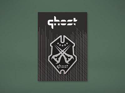 "Ghost Gaming ""Halo"" Enamel Pin Mockup energy sword enamel pin crest badge halo ghost gaming gamer esports design"