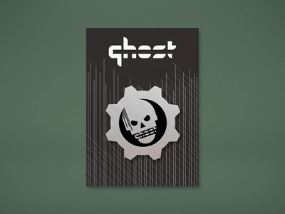 "Ghost Gaming ""Gears"" Mockup"
