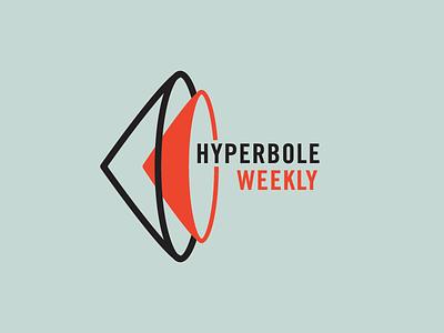 Hyperbole Weekly mid century modern mid-century mid century vector modern mark logo design