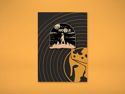 "Noble Gaming ""H1Z1"" Mockup h1z1 lapel pin enamel pin pin noble gaming gamer esports design badge"