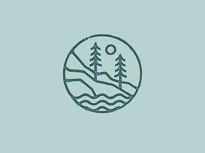 West Coast Logomark icon logo brand identity vector branding illustrator illustration design