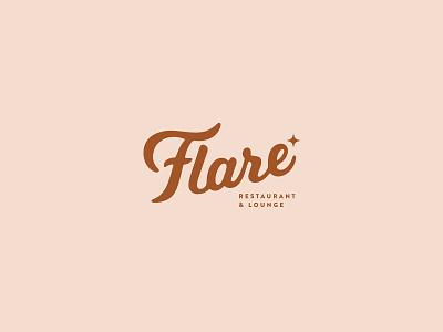 Flare Logo flare stars dailylogo logotype dailylogochallenge vector typography logo lettering illustrator brand identity illustration branding design