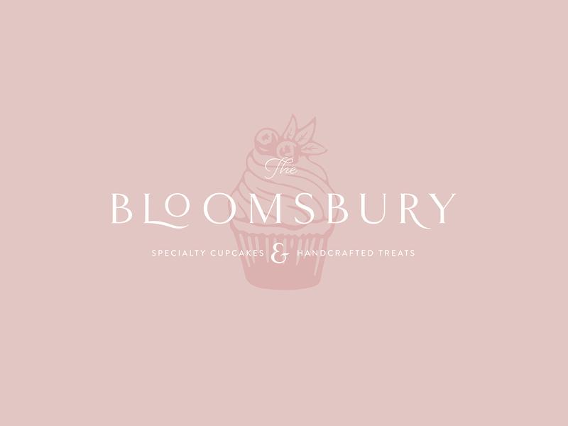 The Bloomsbury dailylogo logotype icon dailylogochallenge vector typography logo lettering illustrator brand identity illustration branding design