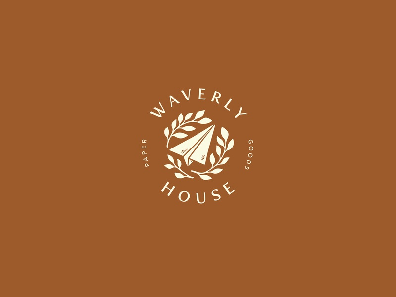 Waverly House logotype dailylogo icon dailylogochallenge vector typography lettering logo illustrator brand identity illustration branding design