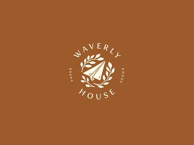 Waverly House logotype dailylogo icon dailylogochallenge vector typography lettering logo illustrator brand identity illustration branding design