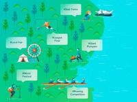Illustration for News App Landing Page