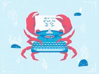 Crab the typewriter full