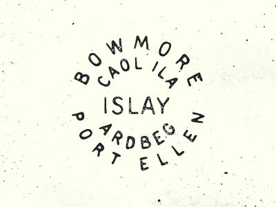 Islay Stamp