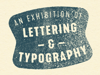 Type Exhibition Stamp