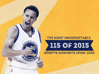 SI's Top 115 of 2015 typography stephen curry sports illustrated sports