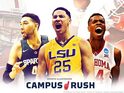 Follow Campus Rush campus oklahoma michigan state lsu sports college