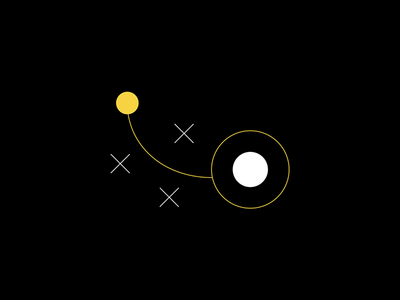 Custom Icon for our website -  UX Strategy iconography user interface uxui ui ux flat design minimal white black icon yellow