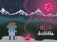 Very first dribbble shot
