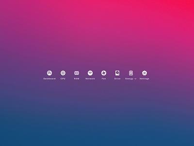 Sidebar icons mac icon ui