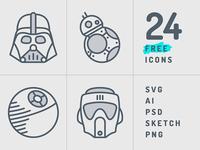 Starwars Icon Set