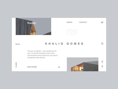 Kaale visual design blog product design ux design ui design user experience user interface website web design clean typography ui ux