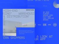 Répertoire interface platform clean typography web design design website ui ux