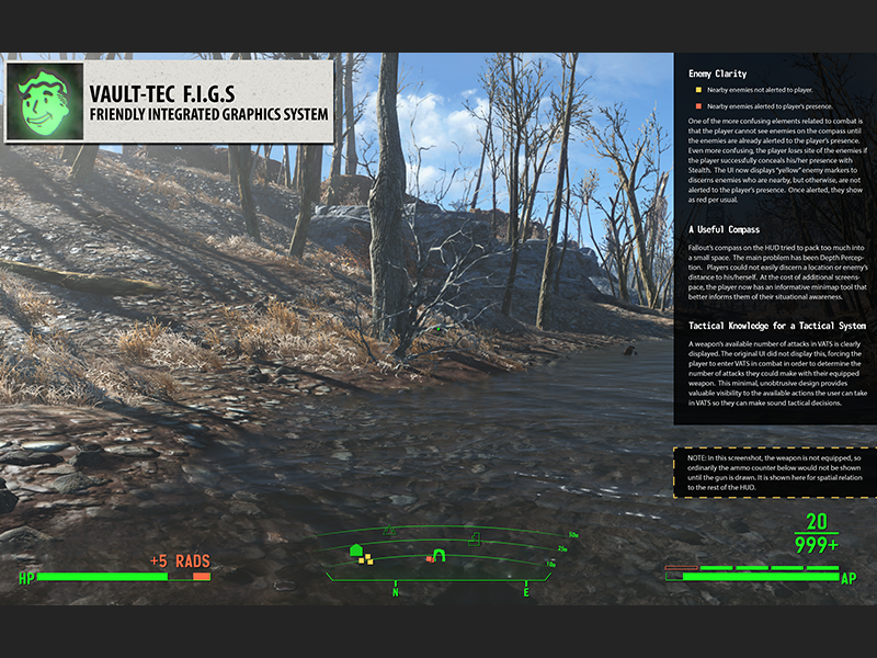 WIP Fallout 4 UI Concept - HUD by Taylor Paschal on Dribbble