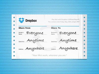 Dropbox can playoff dropbox form dribbble