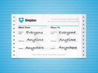 Dropbox can