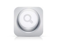 Antibiotics search icon retina