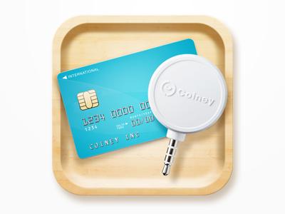 Coiney iOS app icon creditcard ios icon