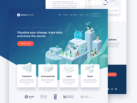 Impact Mapper - Landing Page
