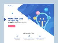 Design Agency Homepage Exploration