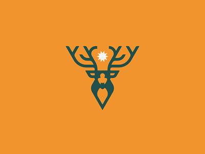 Travel Deeper Branding stronghold studio buffalo ny star branding logo animals antlers elk stag deer