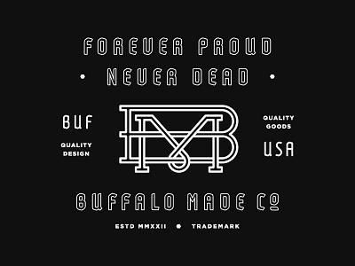 BMCO Mugs lightning bolts anvil bison mug motto typography type buffalo made bmco usa buffalo