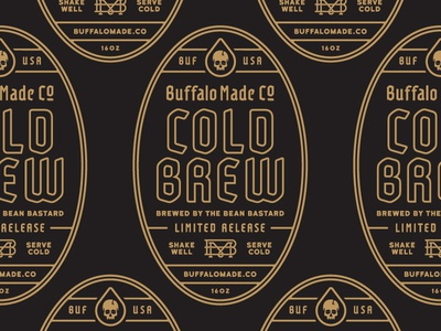 BMCO Cold Brew Label