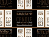 New BMCO Candle Label