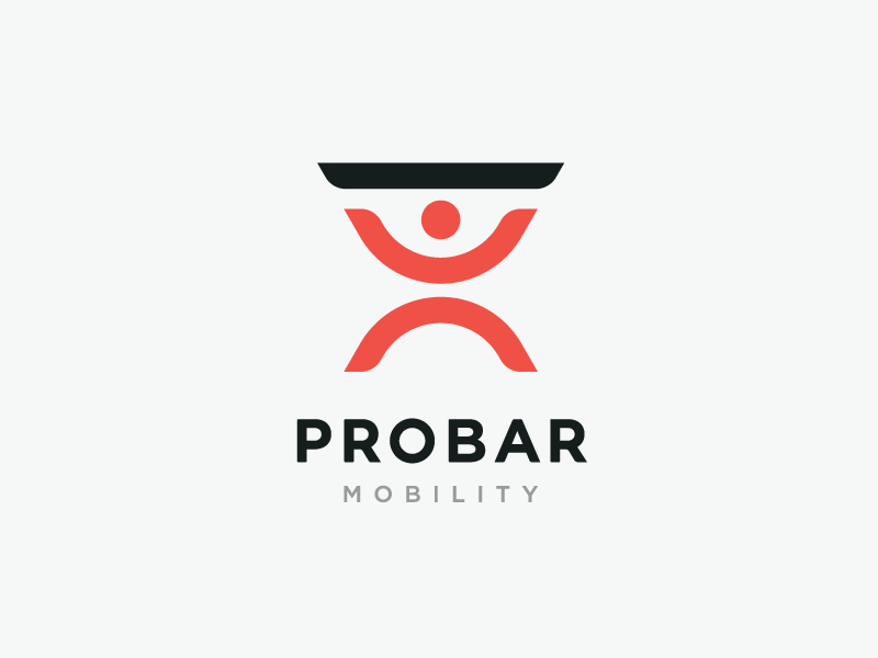 ProBar Mobility Concept 3 stronghold studio identity design buffalo ny logo branding health gym fitness
