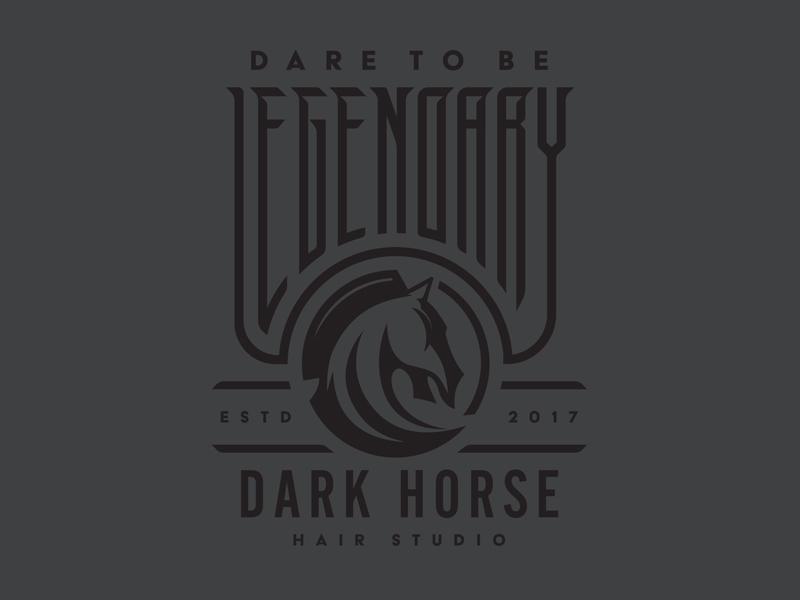 Legendary lettering custom type dark horse stronghold studio buffalo ny apparel design typogaphy type