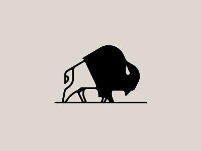 Another Bison buffalo made co bmco stronghold studio branding buffalo ny illustration animal buffalo bison