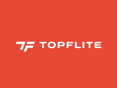 TopFlite Logo Concept 2 stronghold buffalo ny rebranding rebrand logo sports golf