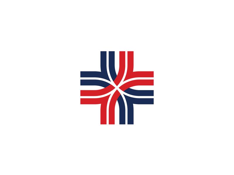 AccessCare Mark cross healthcare stronghold studio identity design buffalo ny logo branding