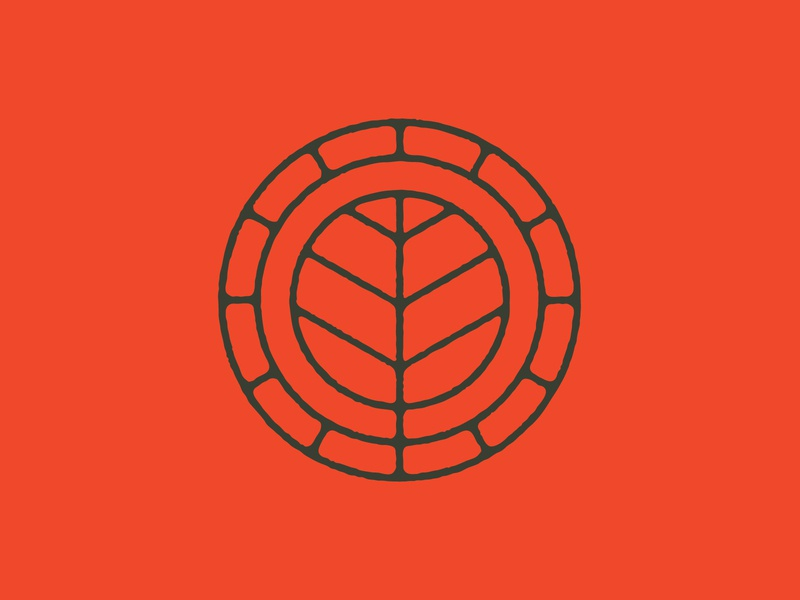 Cobblestone Green icon buffalo ny stronghold studio real estate living housing identity branding logo