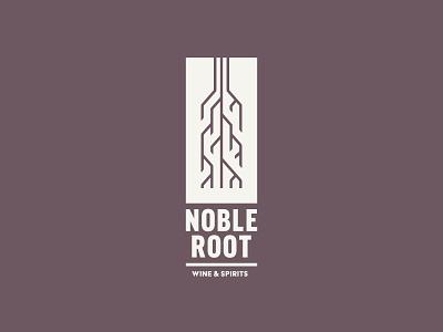 Noble Root stronghold studio buffalo ny branding logo spirits wine roots