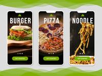 Food App Intro Screen